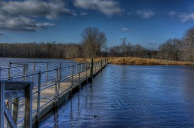 Cash Lake walkway, Patuxent Wildlife Refuge, Maryland