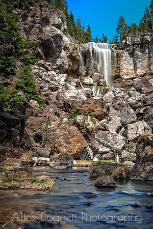 Paulina Creek Falls, Paulina Creek, Central Oregon