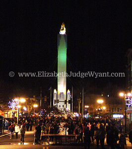 Easton Peace Candle Lighting Nov 2009