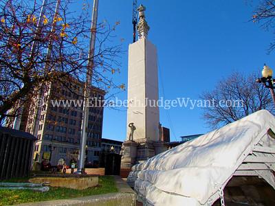 Easton Peace Candle Installation Nov 2012