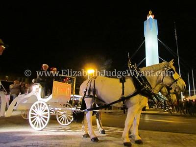 Easton Peace Candle Lighting Nov 2011