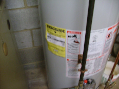 fuzzy hot water heater