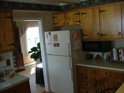 Kitchen (doorway is into dining area)