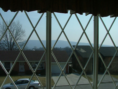 View out front windows