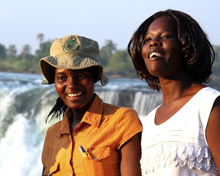 Tourists we met at Victoria Falls