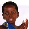 Schoolgirl in Zimbabwe