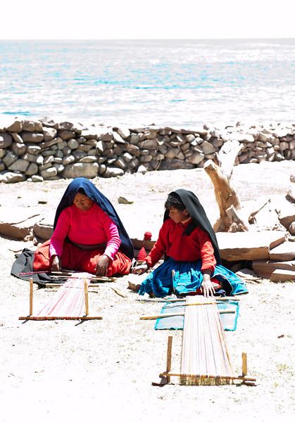 Taquila Island on Lake Titicaca