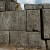 Stone work at Machu Picchu