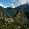 Machu Picchu from Sun Gate at end of Inca Trail