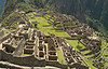 Machu Picchu, main city view