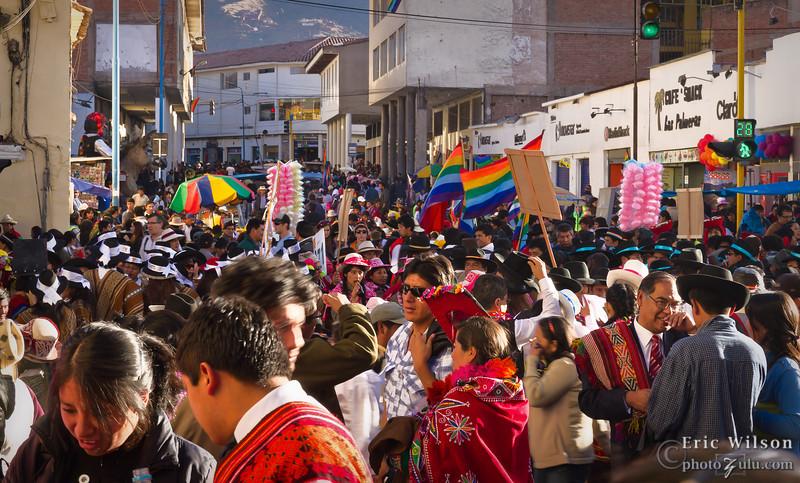 "The Sun Festival, ""Inti Raymi,""  brings record crowds to Cusco."