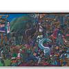 """Large (about 2-3m tall) mural stretching part of the block near our hotel in Cusco.<br><span class=""""subcaption"""">(Stitching together of 7 images.)</span>"""