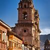 "Iglesia de la Compania de Jesus, Cusco, Peru.&nbsp;<br><br><span class=""subcaption"">(In the Plaza de Armas.)</span>"