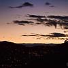 Sunset over Cusco