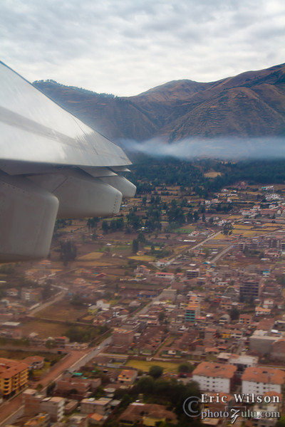 Arrival in Cusco