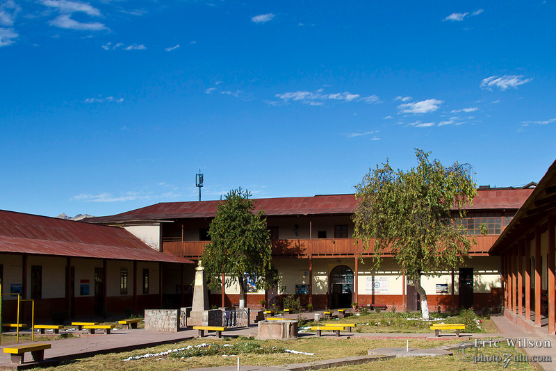 """Orfelinato María Salome Ferro"" (orphanage) courtyard"