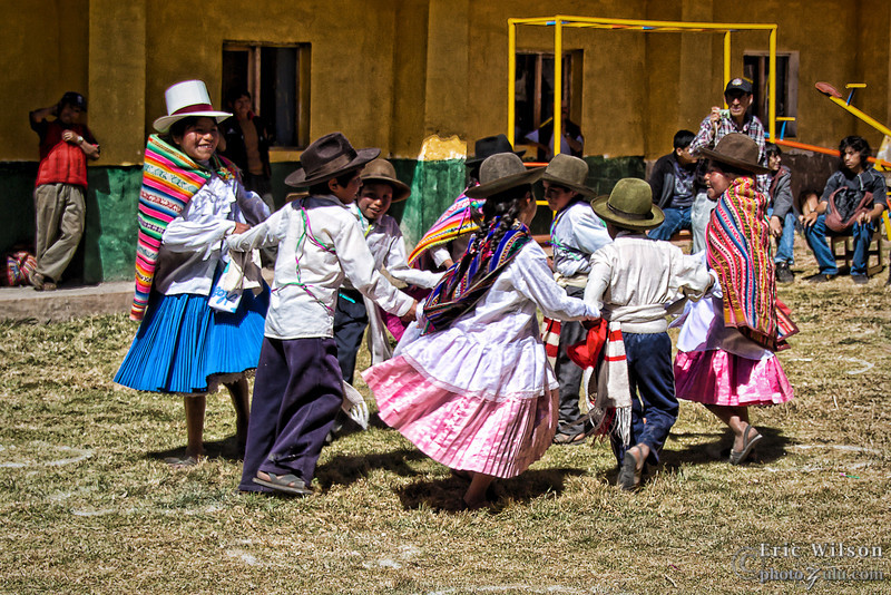 "Traditional Peruvian dance. <br><br><span class=""subcaption"">(Alternate photo treatment.)</span>"