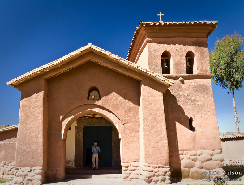 """Punacancha church.<br><br><span class=""""subcaption"""">(The churches were usually the nicest buildings in a village by a wide margin.)</span>"""