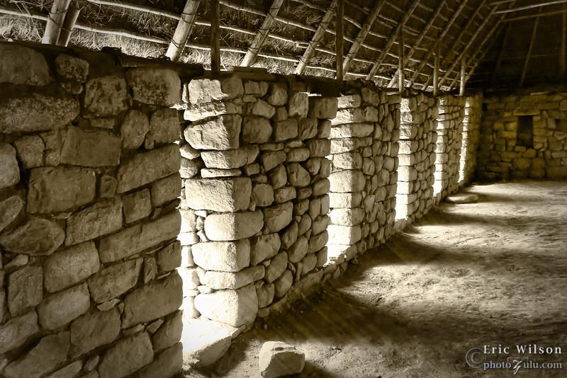 Dwelling interior.