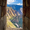 "Room with an Inca view. &nbsp;<br><br><span class=""subcaption""> (The sacred Urubamba river winds below.)</span>"