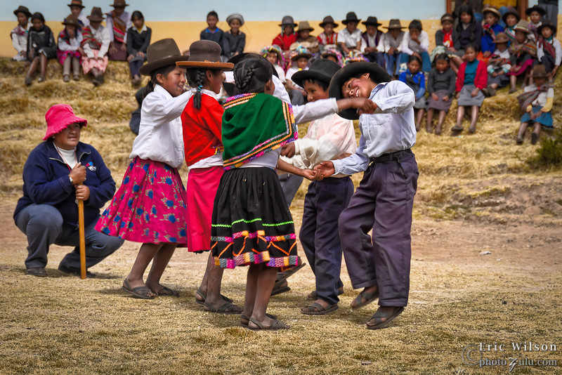 Traditional coming of age dance.
