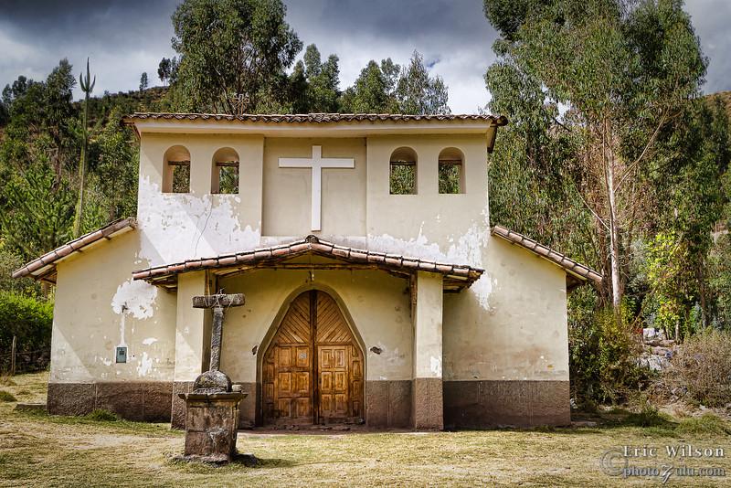 Lamay village church.