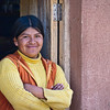 "Lamay village mother.&nbsp;<br><br><span class=""subcaption""> (One of the boys following me to get in photos pulled me to also take a photo of his mom. He lit up happily when I showed her herself on the LCD camera screen.)</span>"