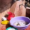 Community washing area.