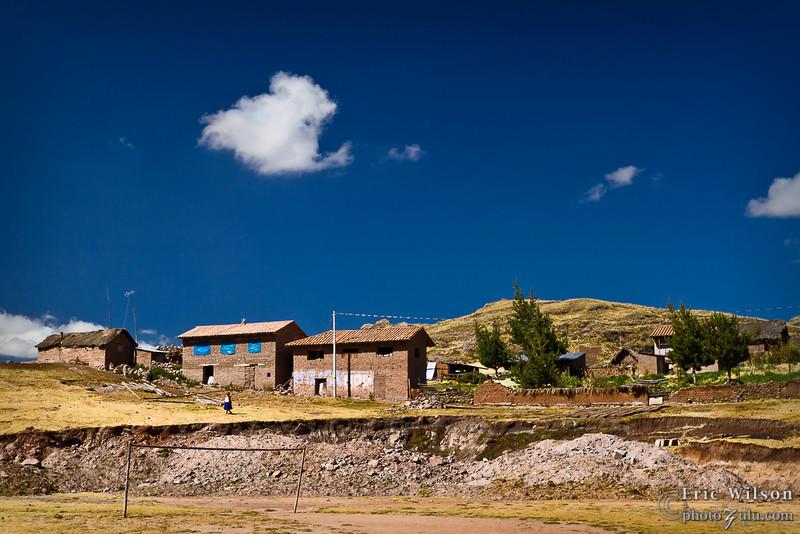Peruvian blue skies