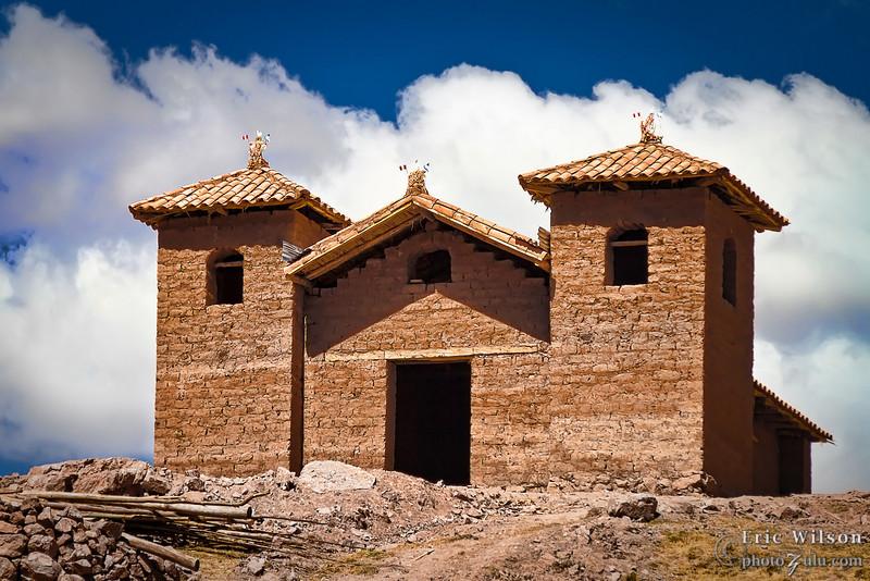 Coyllorpuquio village church.