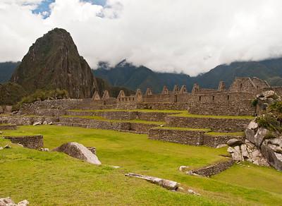Inca ruins, Machu Picchu, Peru 3 November 2008