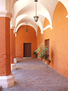 Courtyard passage