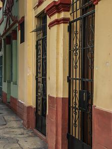 Iron gates in Lima