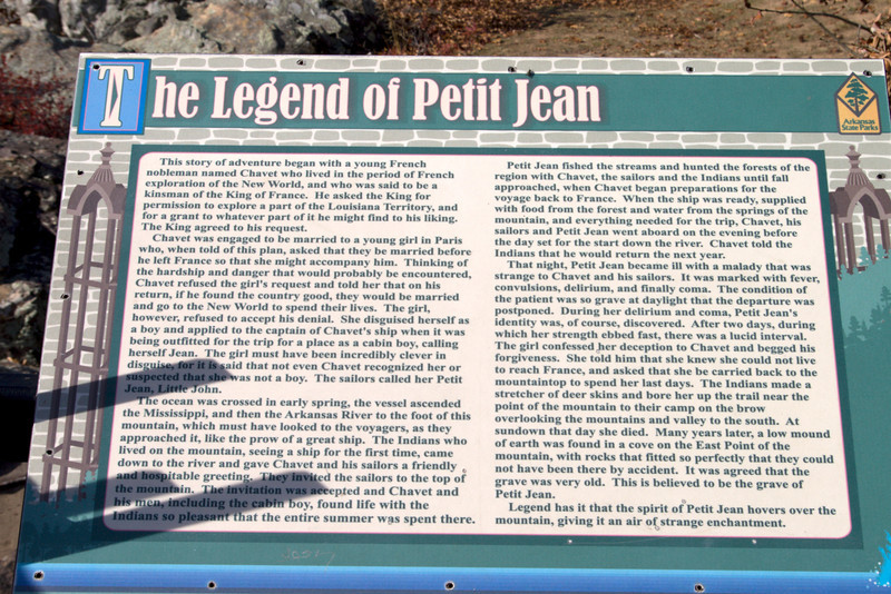 Petit Jean State Park near Morrilton, AR . Learn more at http://www.petitjeanstatepark.com/