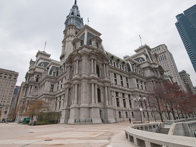 Philadelphia City Hall. View from northwest.