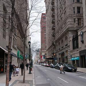 Street scene, Philadelphia.
