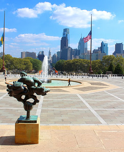Philadelphia Museum of Art View, Philadelphia, PA
