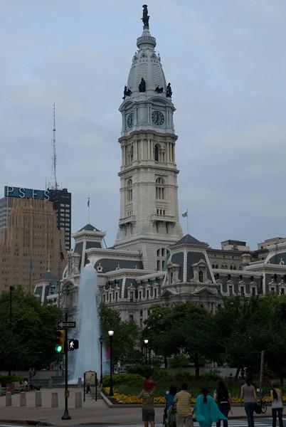 William Penn Pissing on Philadelphia