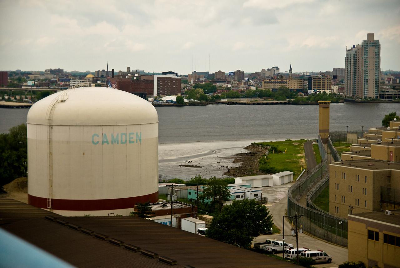 Camden and Philadelphia