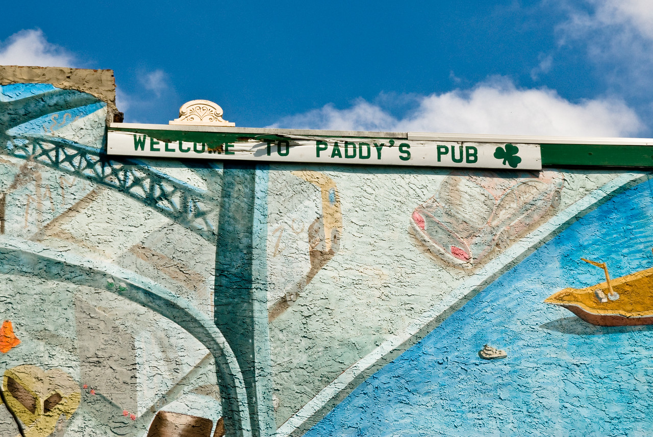 Welcome to Paddy's Pub