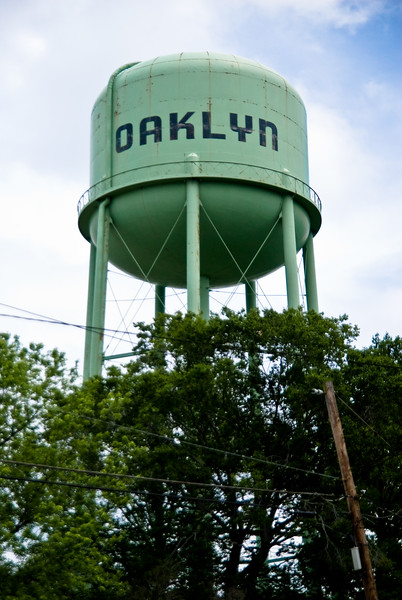 Water tower in Oaklyn, NJ
