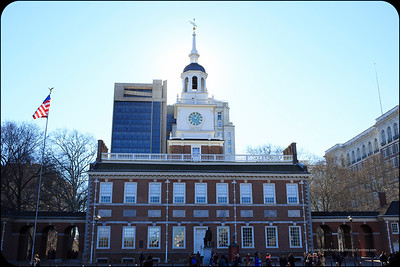 Where it all went down: Independence Hall.