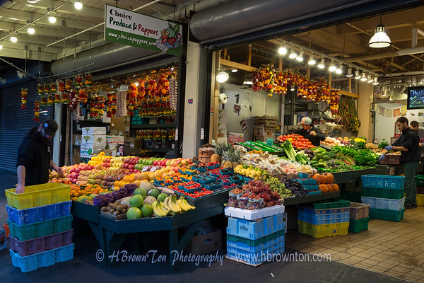 Pike Place Market Morning Prep