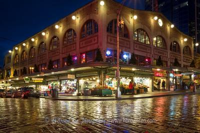 Corner of Pike Place & Pike Street