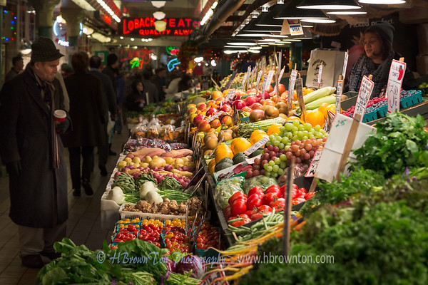 Always Fresh Produce at Pike Place Market
