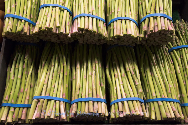 Fresh Asparagus at Pike Place Market