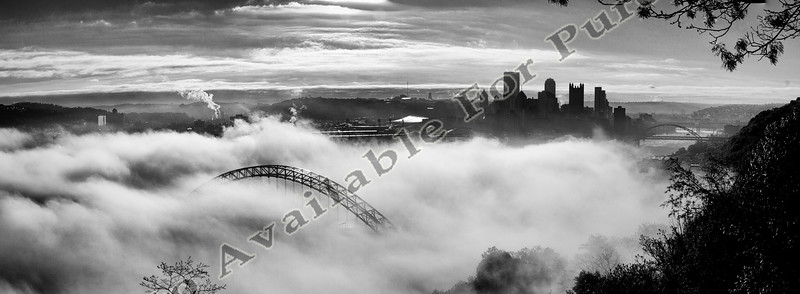 April 26, 2017 City of Pittsburgh, Fog