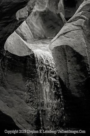 Fountain in the Mountain III B&W _H1R6265