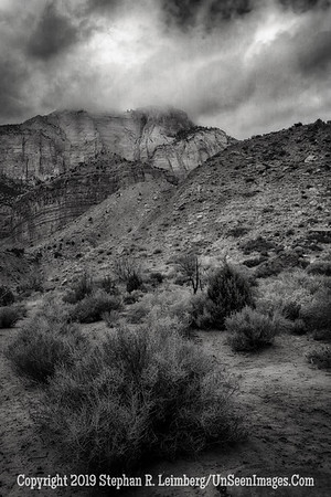 Multilayered Mountains B&W _H1R6766