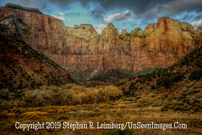 Zion Mountains -
